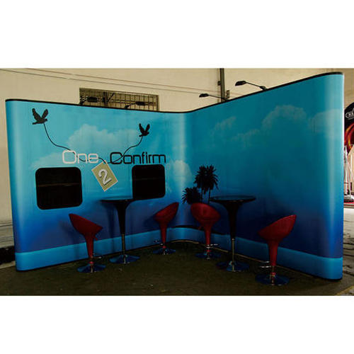 Exhibition Stand Pop Up : Pop up display stand usage: exhibition show rs 30000 kit id