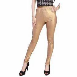 Ladies Golden Shimmer Leggings