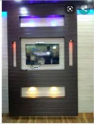 Wall Mounted PVC TV Cabinet, For Residential