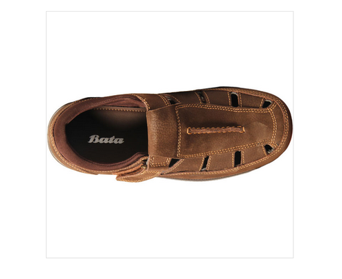 e5486542f54f Tpr Bata Brown Sandals For Men