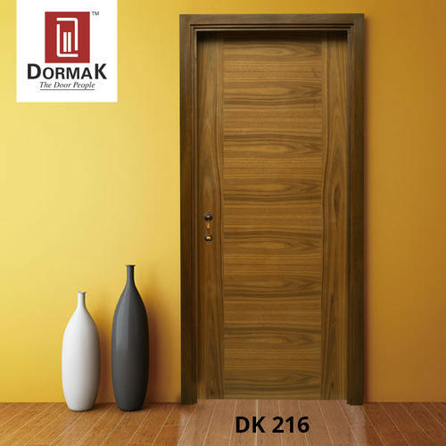 DK-216 Decorative Designer Wooden Veneer Door