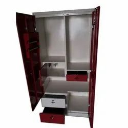 7 Feet Double Door Stainless Steel Almirah