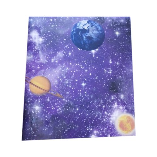Kids Galaxy Design Room Pvc Wallpaper