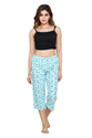 PDPM Ladies Cotton Knitted Capri