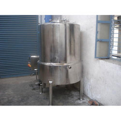 Stainless Steel Jacketed Holding Vessel