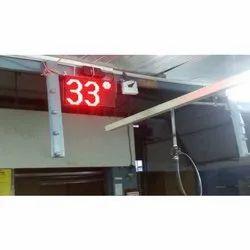 Temperature LED Displays