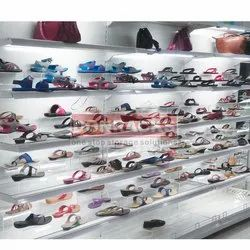 Donracks Shoe Rack with Glass Shelf