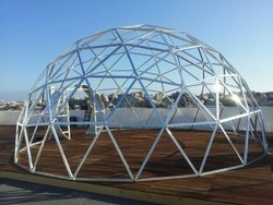 Mild Steel Dome Type Fabrications, Industry/Application: Industry