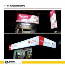 Rectangle Designer Glowsign Board, For Advertising, Thickness: 12 Inch