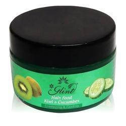 Glint Kiwi and Cucumber Hair Food, for Parlour,Personal, Cream