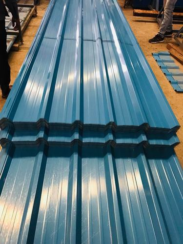 Color Coated Roofing Sheets Hi Rib Color Coated Roofing Sheet Manufacturer From Ghaziabad