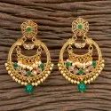 Antique Classic Earring With Gold Plating 202319