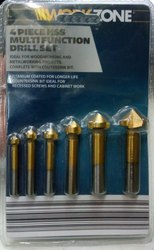 6pcs HSS Countersink Bit Set Work Zone 8-20mm
