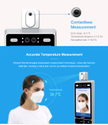 Temperature & Face Detection System