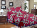 Mix Color Jindal Bed Sheets, 1 Set + 2 Pillow