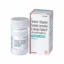 Tenofovir Disoproxil Fumarate Lamivudine And Efavireenz