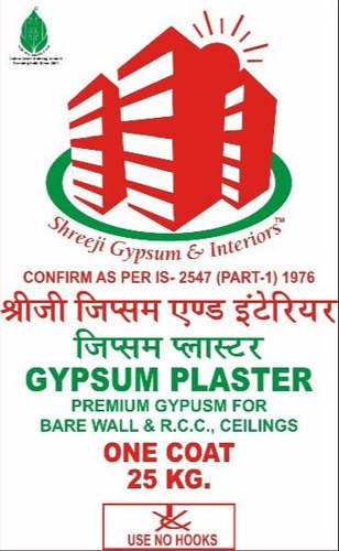 Shreeji Eco-White Gypsum Plaster RJ