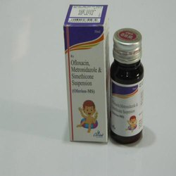 Ofloxacin, Metronidazole, Simethicone suspension