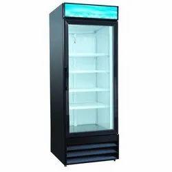 Plastic Blue Star Glass Refrigerator, Number of Shelves: 4