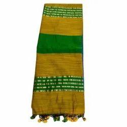 Festive Wear Designer Handloom Silk Saree, 6 m (with blouse piece)