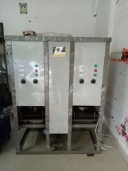 Fully Automatic Double Die Pape dona  and  Thali Machine