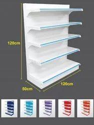 Paint Coated Steel Slotted Angle Storage Rack