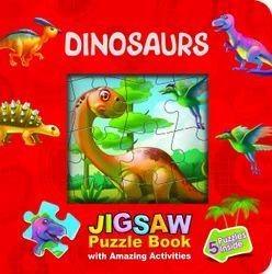 Jigsaw Puzzle Book - Dinosaurs Kids Books