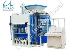 Semi-Automatic Concrete Paver Block Machine