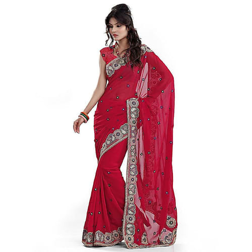 148c16a931 Party Wear Designer Saree at Rs 1500 /piece | Mahesh Nagar | Jaipur ...