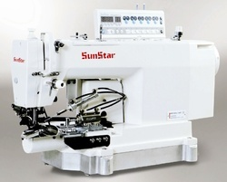 1-Needle, Needle Feed, Bottom Hemming Sewing Machine