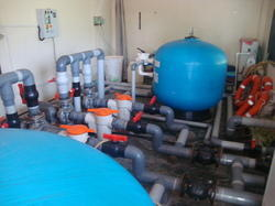Swimming Pool Filtration Plant and Accessories