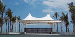 Outdoor Gazebo PVC Tensile Structure