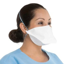 Flat Fold N95 Anti Pollution Protection Face Mask & Respirator (White) - SanNap