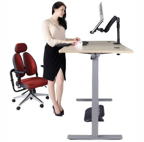 Electric 2 Leg Table Standing Desk With