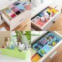 Plastic Socks Organizer Box Set of 4