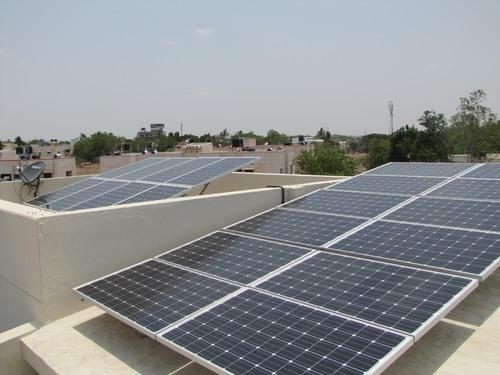 Off Grid Hybrid Solar Power Plant