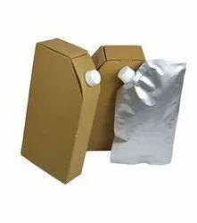 Packing Material Rectangular Paper Corrugated Tea Flask, Packaging Type: Box
