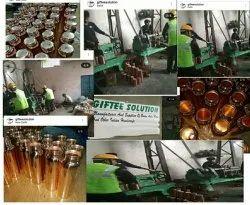 Tamra Screw Cap Copper Bottle, Capacity: 950 Ml, Size: 11 H