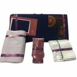 Cotton Raymond Suit And Shirting Gift Set