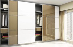 Purple Stainless Steel Home Wardrobes for Bedroom