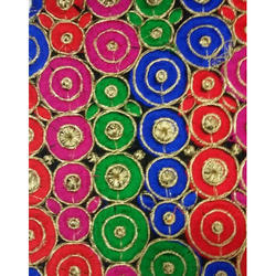 Acrylic Goli Fancy Fabric