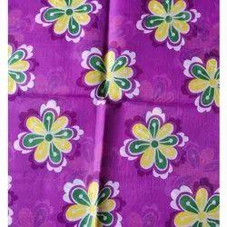 Synthetic Flower Design Mattress Fabric