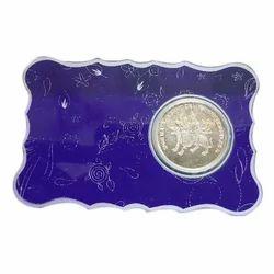 Laxmi Silver Coin Packing Card