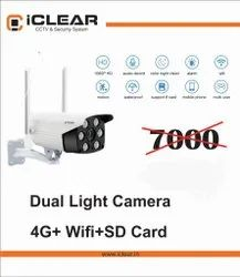 Dual Light 4G Outdoor Cam For Bus And Lorries