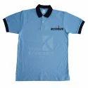 Corporate Contrast Collar T Shirt