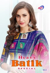 SC Heavy Batik Special Vol-1 Batik Print Cotton Dress Material Catalog Collection