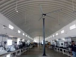 Pole Mounted HVLS High Volume Low Speed Fan