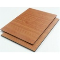 Brown Wooden Aluminum Composite Panel