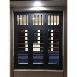 Rectangular Mild Steel Window