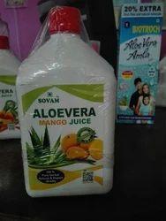 Organic Aloe Vera Mango Flavor Juice